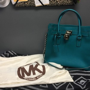 Michael Kors Satchel in Teal