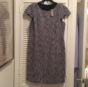 J.Crew Tweed Sheath Work Short Sleeve Dress