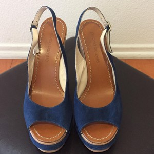 Paloma Barceló Blue Wedges