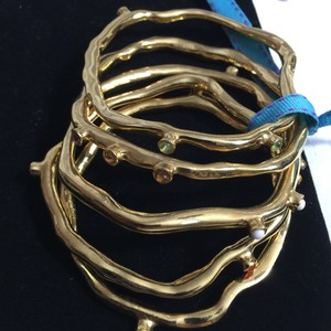 KORA Studded Enamel Bangle