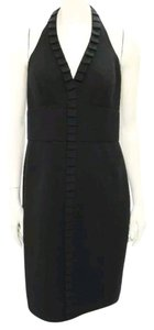 Carmen Marc Valvo Black Dress