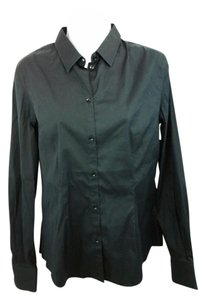 Dolce&Gabbana Dolce & Gabbana Black Button Down Shirt