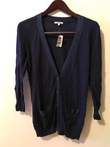Charlotte Russe Cardigan Sparkle Button Down Sweater