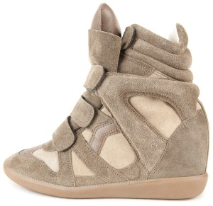 Isabel Marant Khaki Green Wedges