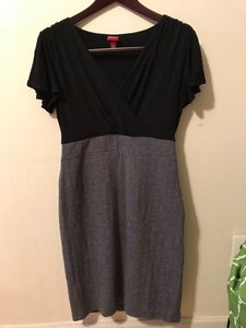 Merona Grey Work Dress