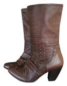 Ginita New Nordstrom Comfortable Dark brown Boots