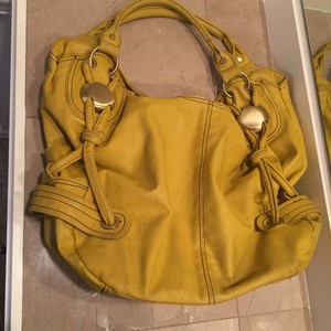 Nila Anthony Yellow Large Purse Hobo Bag