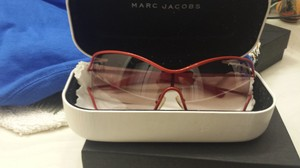 Marc Jacobs red sunglasses by Marc Jacobs