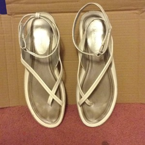 Cole Haan WHITE PATENT Sandals