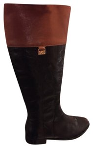 Cole Haan Black & Brown Boots