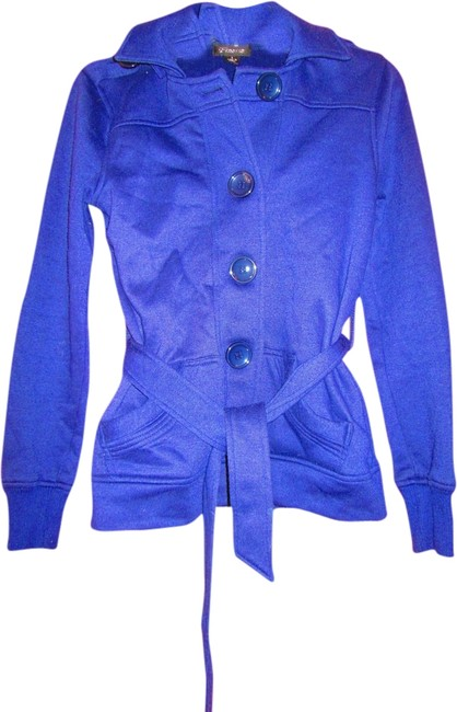 Preload https://item3.tradesy.com/images/finesse-blue-miltary-jacket-size-6-s-1993832-0-0.jpg?width=400&height=650