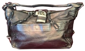 Chloé Satchel in Silver Anthracite