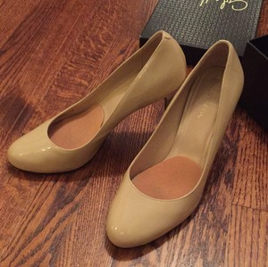 Cole Haan Nude Patent Pumps