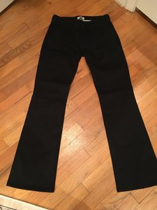 7 For All Mankind Boot Cut Pants Blacm