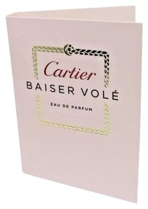 Cartier 5 X Cartier Baiser Vole Eau de Parfum EDP Fragrance Sample For Women
