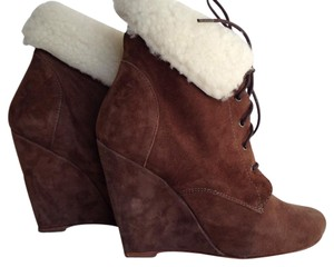 Candela Shiloh Wedge Brown Boots