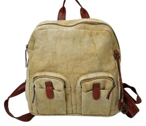 Lucky Brand Rustic Canvas Backpack