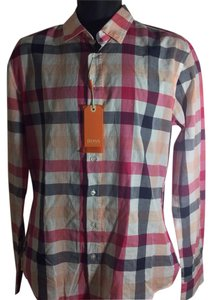 Hugo Boss Button Down Shirt Multi