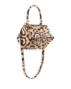 Givenchy Pandora Jaguar Print Shoulder Bag