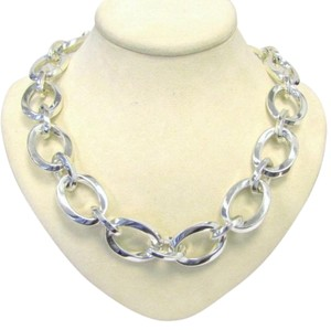 Tiffany & Co. Gorgeous Rare Tiffany And Company Heavy Sterling Silver 16 Inch Necklace!!! 179 Grams!!!