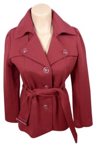 Kenneth Cole Reaction Coat Peacoat red Jacket
