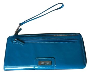 Kenneth Cole Teal Clutch