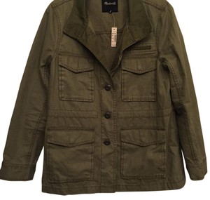 Madewell Military Vintage Look Military Jacket