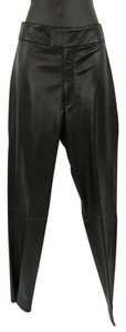 Rem Garson Straight Pants Black