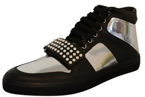 Gucci Sneakers Sneakers Mens Black / Silver Athletic