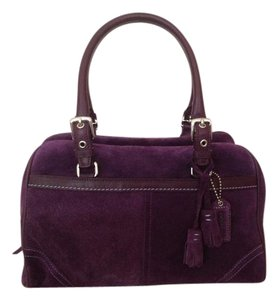 Coach Limited Edition Satchel in PURPLE
