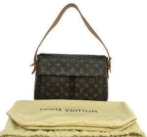 Louis Vuitton Lv Viva Gm Canvas Shoulder Bag