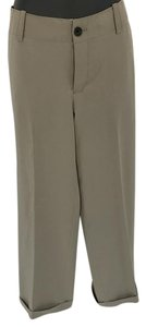 Eddie Bauer Straight Pants Tan