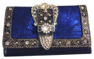 Embellished Buckle Wallet