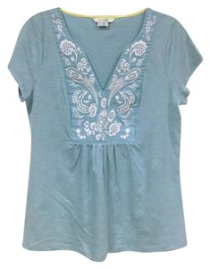 Boden T Shirt Blue, White