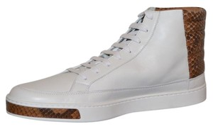 Gucci Sneakers Sneakers Mens White / Brown Athletic