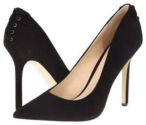 Enzo Angiolini Black Suede Pumps