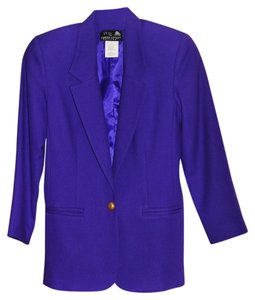 Carole Little Purple Blazer