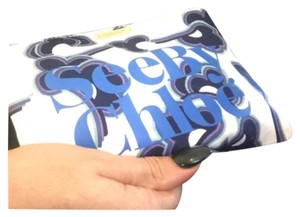 See by Chloé White Multi Clutch