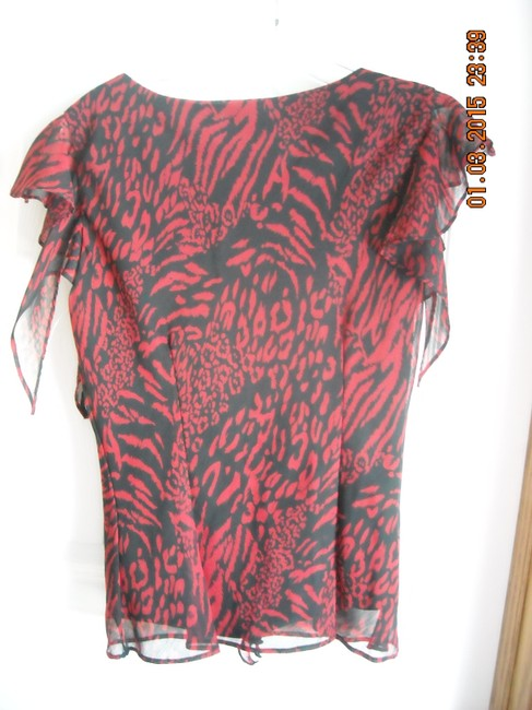 MSK Top RED AND BLACK