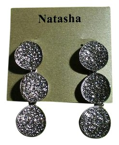 Natasha Better Costume Jewelry Glam Dressy Earrings