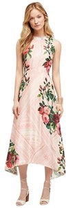 Pink Maxi Dress by Anthropologie Garden