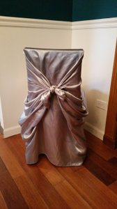 140 Silver Chair Covers