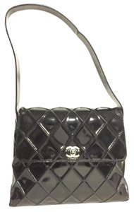 Chanel Patent Quilted 2.55 Shoulder Bag