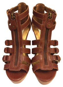 Twelfth St. by Cynthia Vincent Cognac Wedges