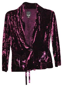 Star City Plum Blazer