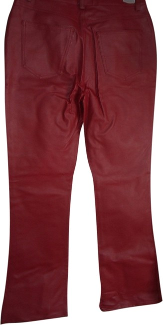 Arizona Jean Company Relaxed Pants RED