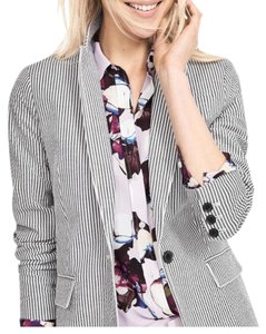 Banana Republic Blue striped Blazer
