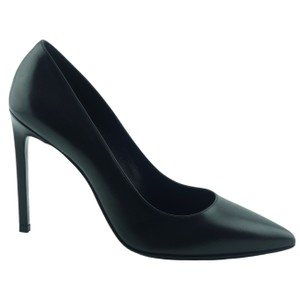 Saint Laurent 315534 Paris Leather Black Pumps