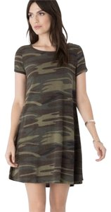 Z Supply short dress Green camo on Tradesy