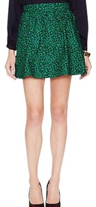 Hutch Mini Skirt Green, Black